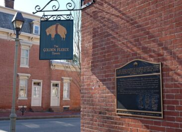 The Golden Fleece Tavern in Dover, Delaware