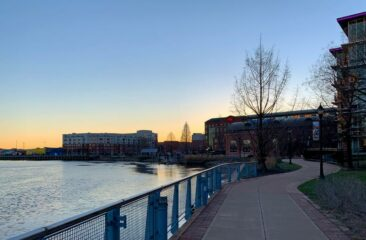 Wilmington Riverfront in Delaware