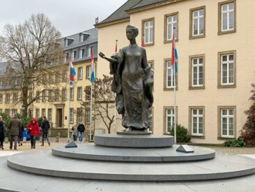 Grande Duchess Charlotte Memorial in Luxembourg