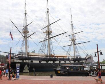 Baltimore Inner Harbor Ships