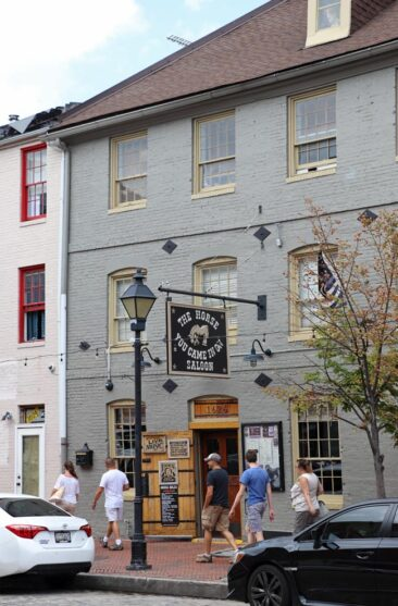 Edgar Allan Poe's bar in Baltimore