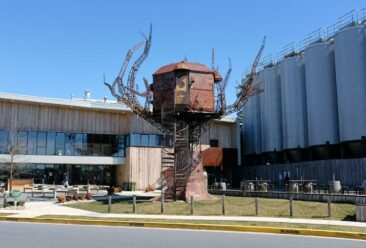 "The ""Steampunk Treehouse"" at Dogfish Head Brewery"