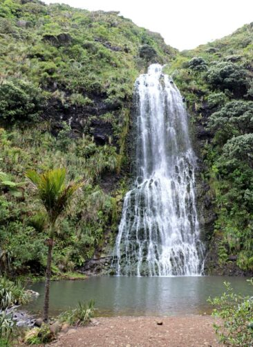 Karekare Waterfall outside Auckland