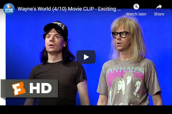 Waynes World Delaware scene