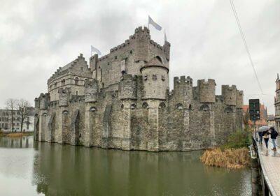 Gravensteen Castle in Ghent