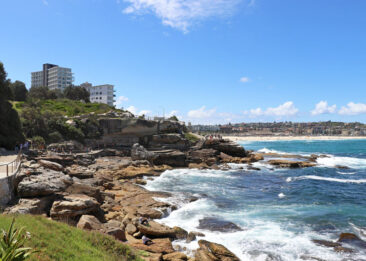 Bondi to Coogee Coastal Walk, just south of Bondi Beach