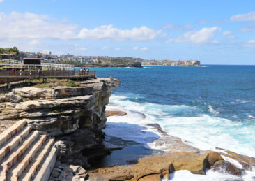 Coast near Waverley Cemetery