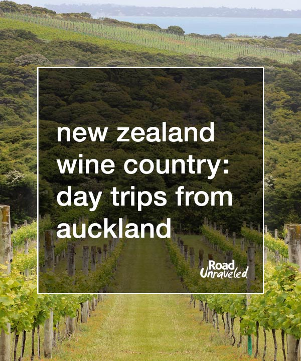 New Zealand Wine Country: Day Trips from Auckland