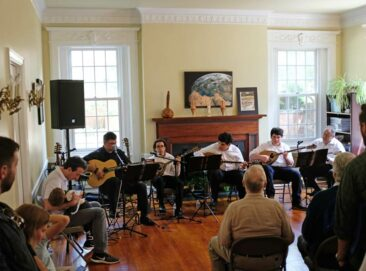 Musical performance at the Embassy of Cyprus in Washington, DC.