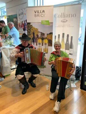 Traditional music at the Embassy of Slovenia