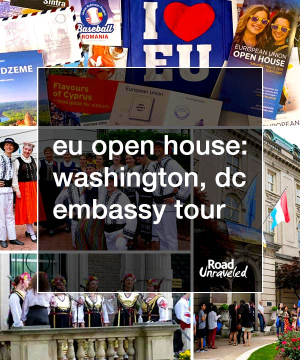 EU Open House: Washington DC's European Union Embassy Tour