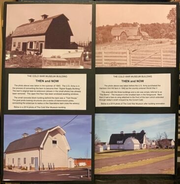 Historical photos of the Vint Hill buildings