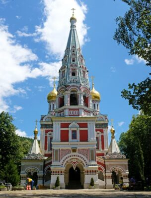 Shipka Memorial Church near Buzludzha