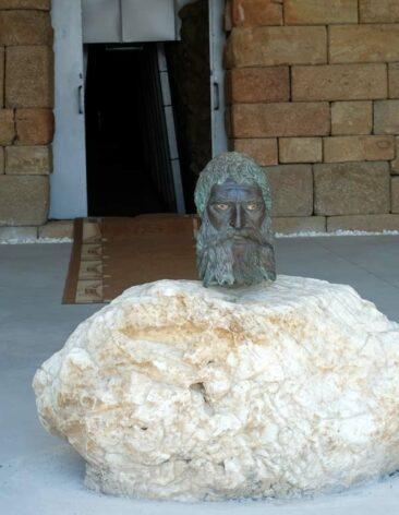 Tomb of Seuthes III near Buzludzha in Bulgaria