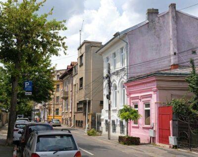 Streets of Bucharest, Romania