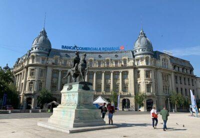 University Square in Bucharest