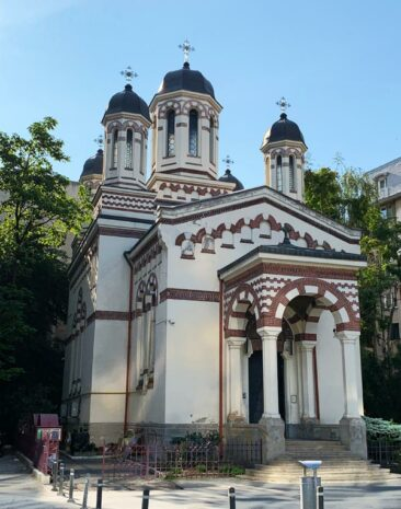 Zlatari Church in Bucharest, Romania