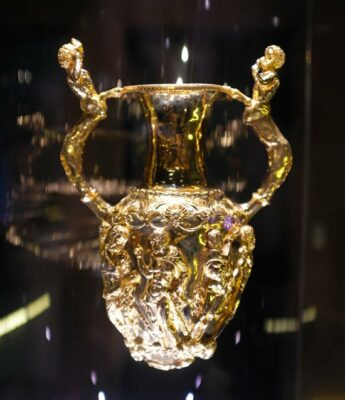 The Panagyurishte Gold Treasure in Bulgaria