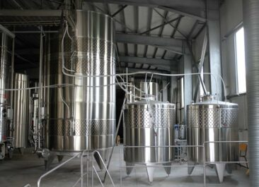 Wine Fermentation Tanks in Bulgaria