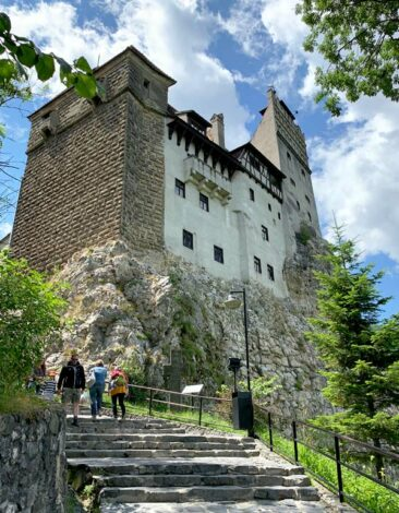 Path up to Bran Castle