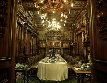 Interior of Peles Castle (image via Wikipedia)