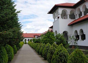 Ghighiu Monastery in Romania