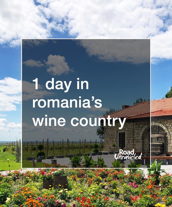 Romania Wine Tour from Bucharest