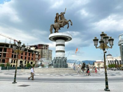 Alexander the Great in Macedonia Square