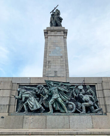 Monument to the Soviet Army in Sofia, Bulgaria