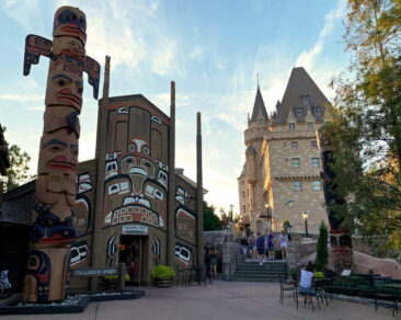 The Canada pavilion at Disney's Epcot