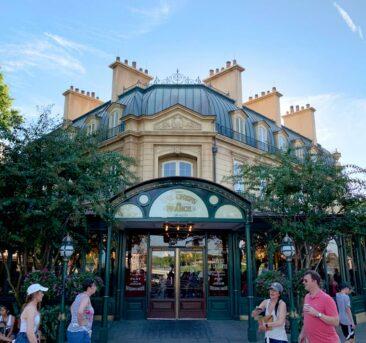 The France pavilion at Disney's Epcot