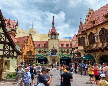 The Germany pavilion at Disney's Epcot