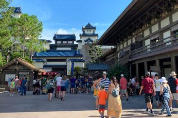 The Japan pavilion at Disney's Epcot