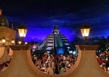 Inside the Mexico pavilion at Disney's Epcot