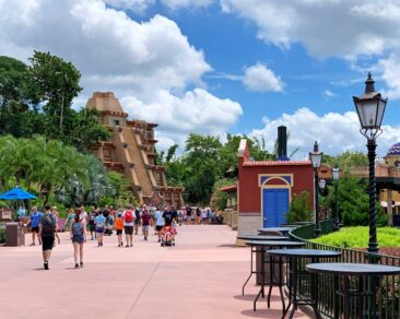 The Mexico pavilion at Disney's Epcot