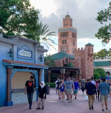 The Morocco pavilion at Epcot