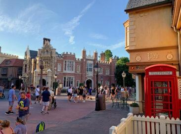 The UK pavilion at Disney's Epcot