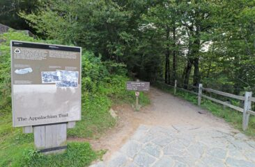 Appalachian Trail runs through Great Smoky Mountain National Park