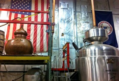 Copper Fox Distillery in Sperryville, Virginia