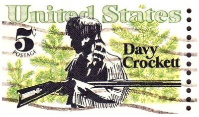 Davy Crockett Stamp (Source: Wikipedia)