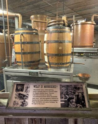 Ole Smoky Moonshine Distillery in Gatlinburg, Tennessee