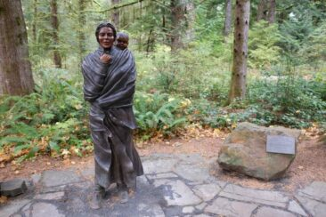Sacagawea Statue at Fort Clatsop, Oregon