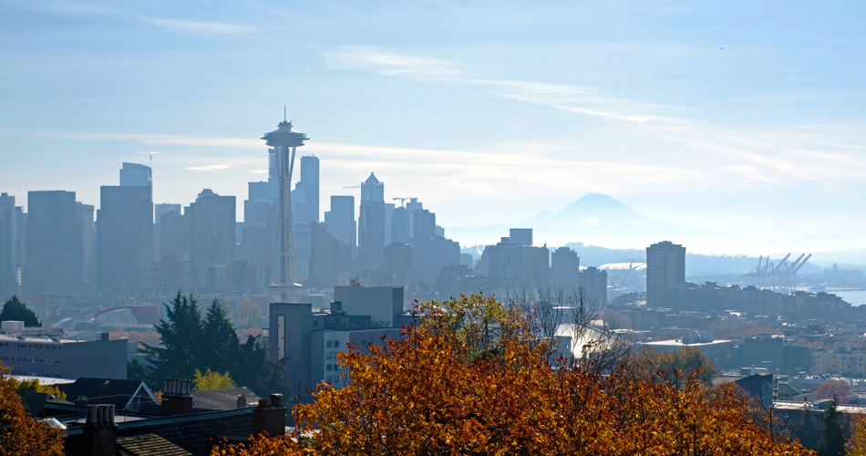 The Seattle Skyline from Kerry Park