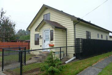 Kurt Cobain's childhood home in Aberdeen, Washington