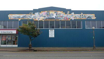 The Nirvana Mural in Aberdeen, Washington