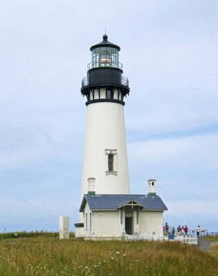 The Yaquina Head Lighthouse