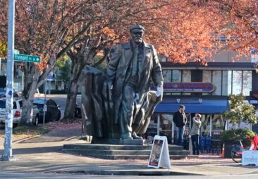 The Lenin Statue in Seattle, Washington