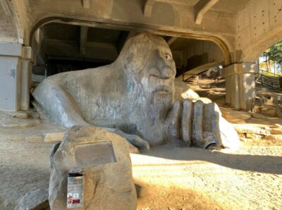 The Freemont Troll in Seattle, Washington