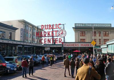Pike Place Market, Seattle Washington