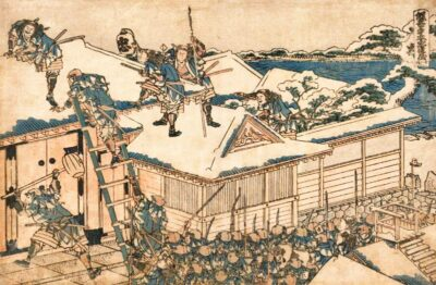 Forty Seven Ronin artwork by Katsushika Hokusai - Image via Wikipedia